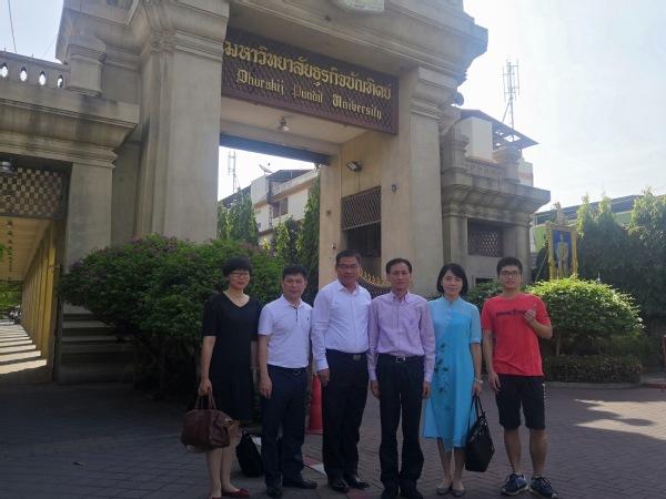 校党委书记朱世泽率团访问菲律宾 马来西亚和泰国